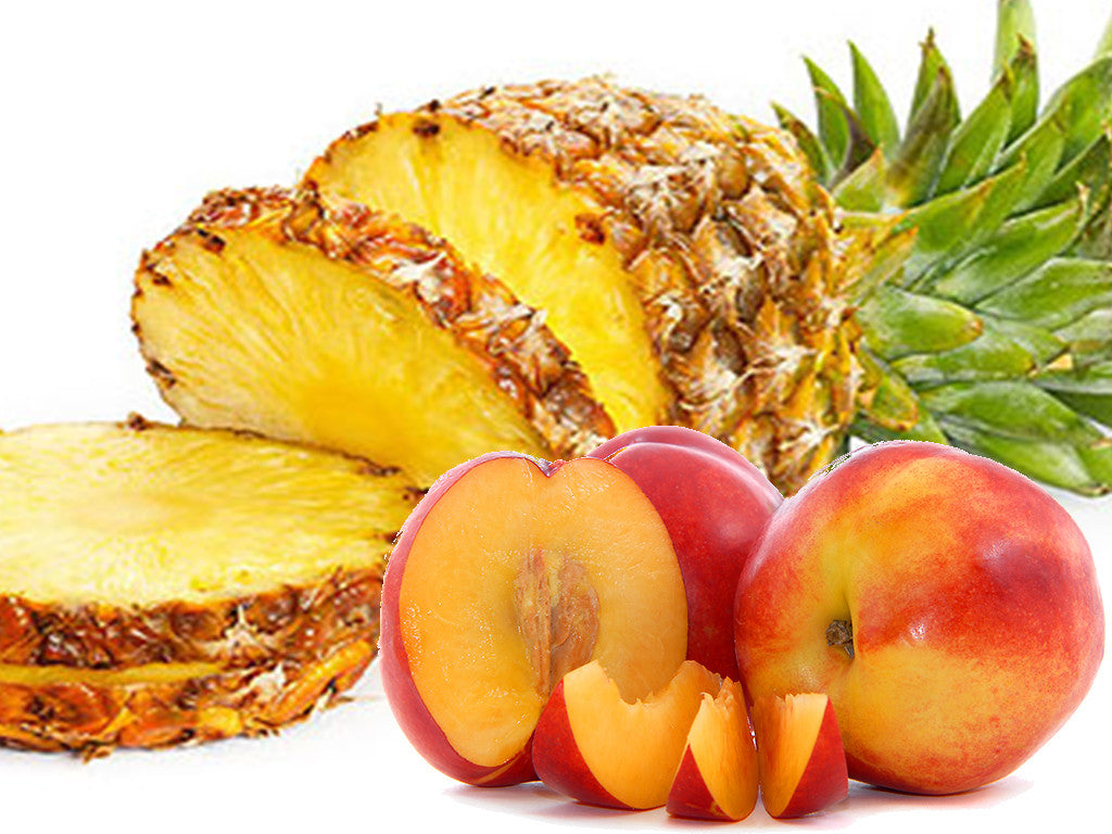 Peaches and Pineapple premium e-juice