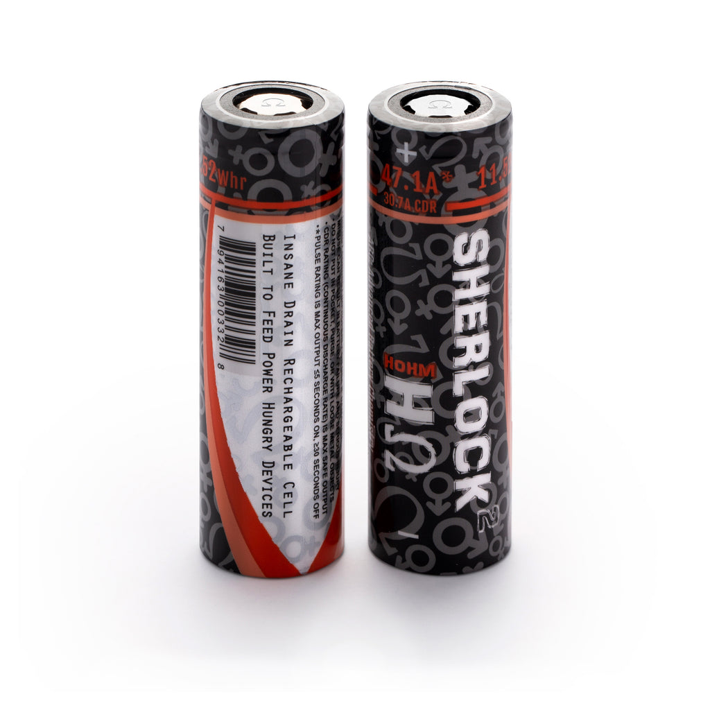 HOHM SHERLOCK 2 IMR 20700, 3116 mAh battery, 47.1A Pulse