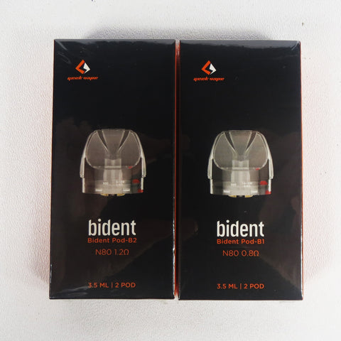 GeekVape BIDENT PODS, package of 2