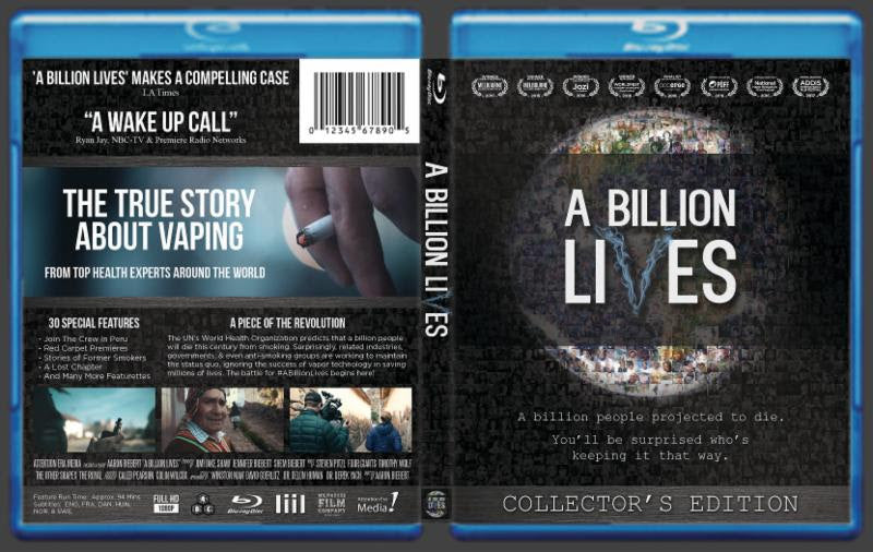A Billion Lives Blue-Ray