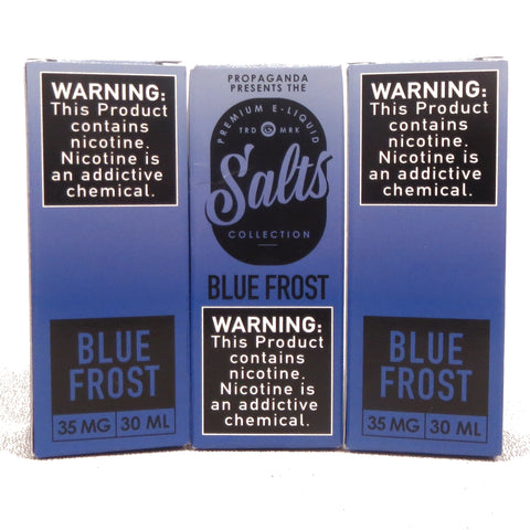 The Hype Collection, BLUE FROST, SALT nic, 30 mL Bottle