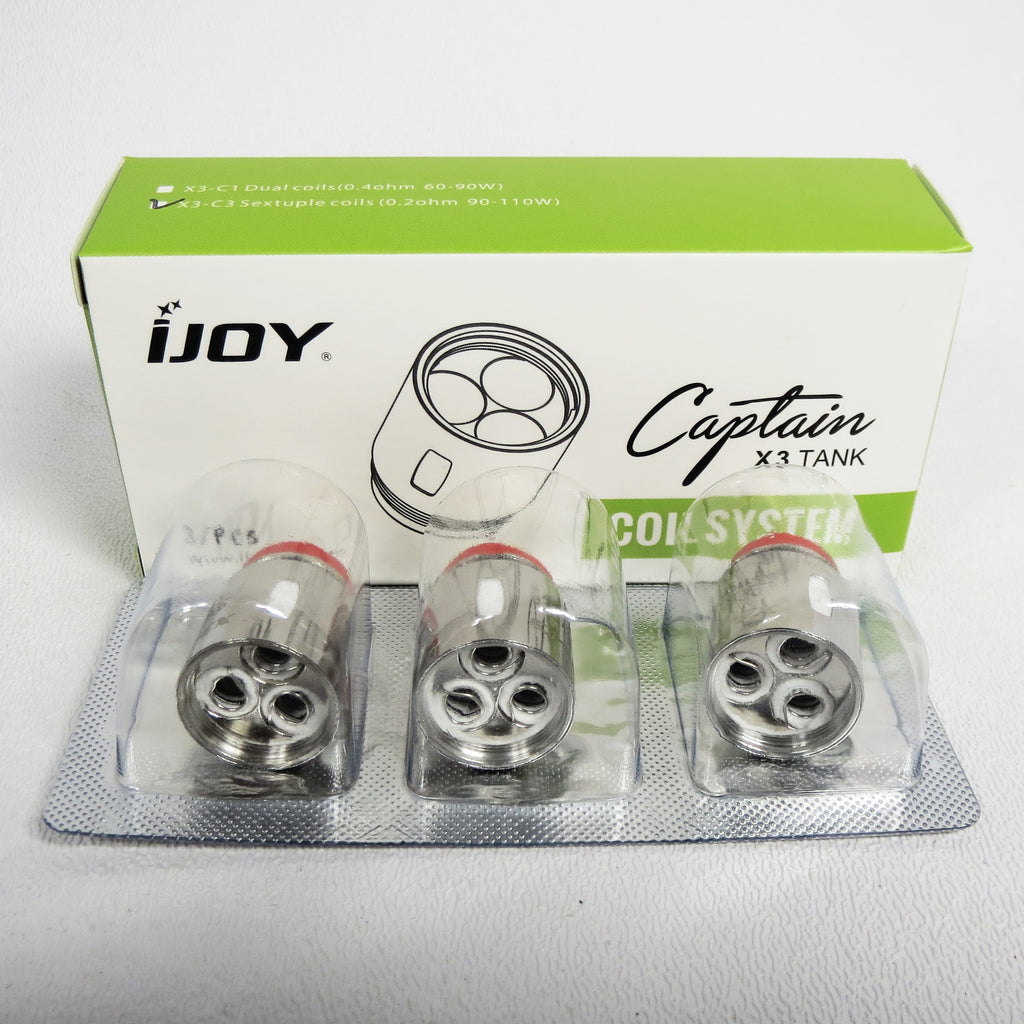 iJoy Captain X3 Tank Replacement Coils