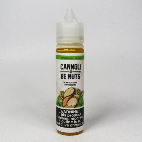 Cassadaga Liquids, CANNOLI BE NUTS, 60 mL Bottle