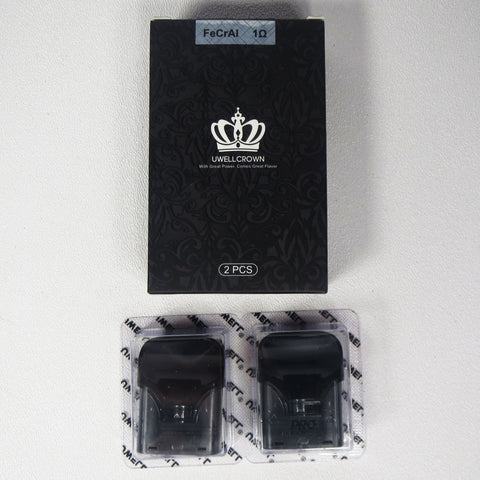 Uwell Crown replacement pods, package of 2