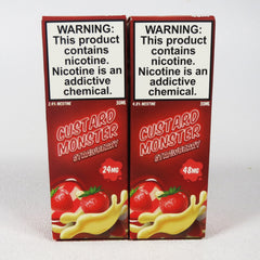 Custard Monster SALTS, 4 flavors, 30 mL Bottle, 24mg or 48mg Salt Nicotine