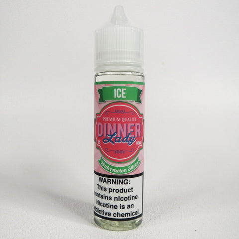Dinner Lady WATERMELON SLICES ICE, 60 mL Bottle