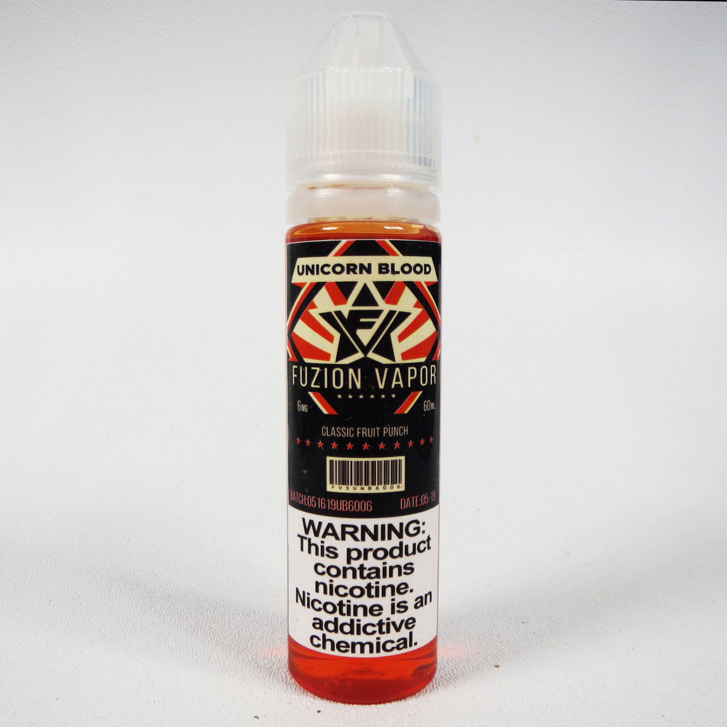 Unicorn Blood eliquid by Fuzion Vaper, 60 mL Bottle