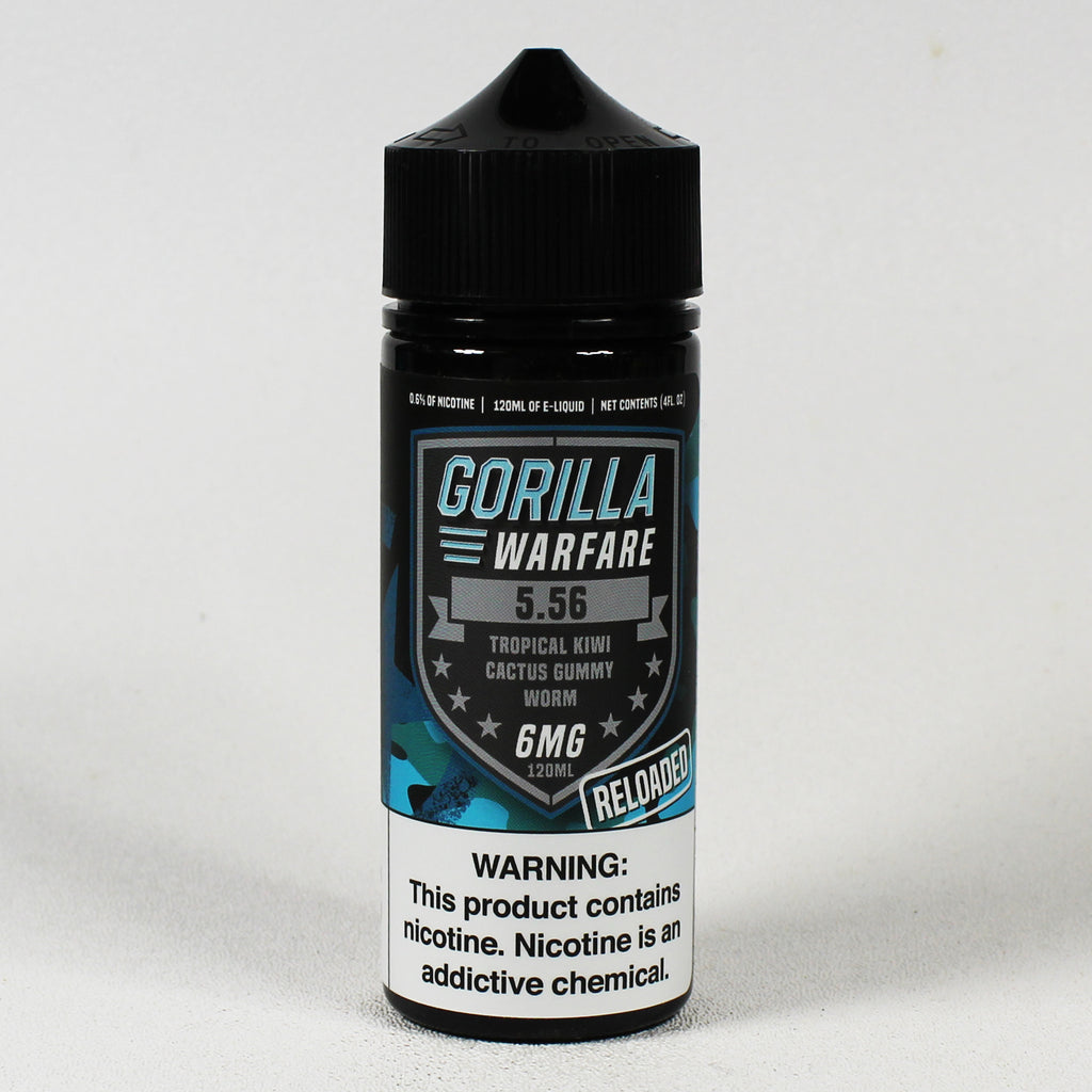 Gorilla Warfare 5.56 RELOADED, 120 mL Bottle