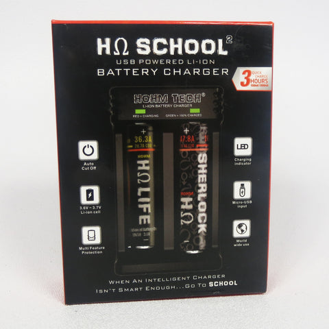 Hohm School Dual Bay battery Charger
