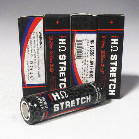 HOHM STRETCH 18650, 2856 mAh battery, 31.6A Pulse