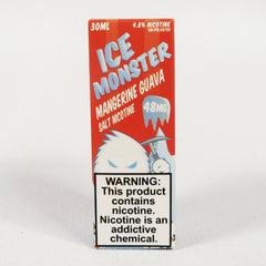 Ice Monster, Mangerine Guava, 30 mL Bottle, 24mg or 48mg Salt Nicotine