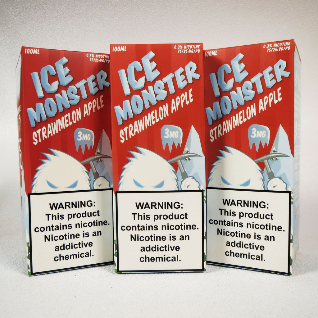 Ice Monster, Strawmelon Apple, 100 mL Bottle
