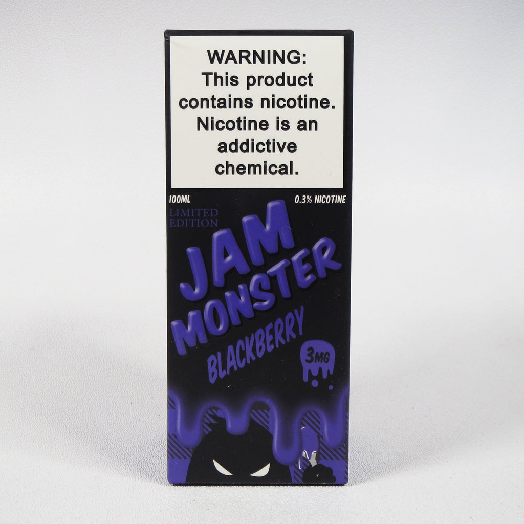 Jam Monster, Blackberry, 100 mL Bottle