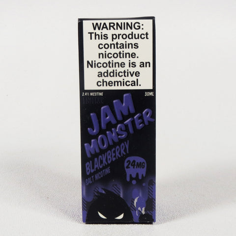 Jam Monster, Blackberry, 30 mL Bottle, 24mg or 48mg Salt Nicotine