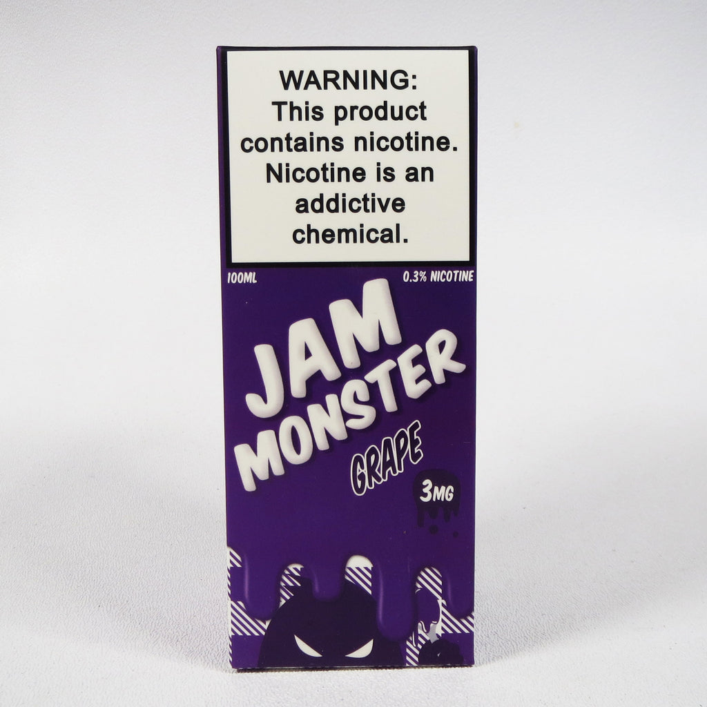 Jam Monster, GRAPE, 100 mL Bottle