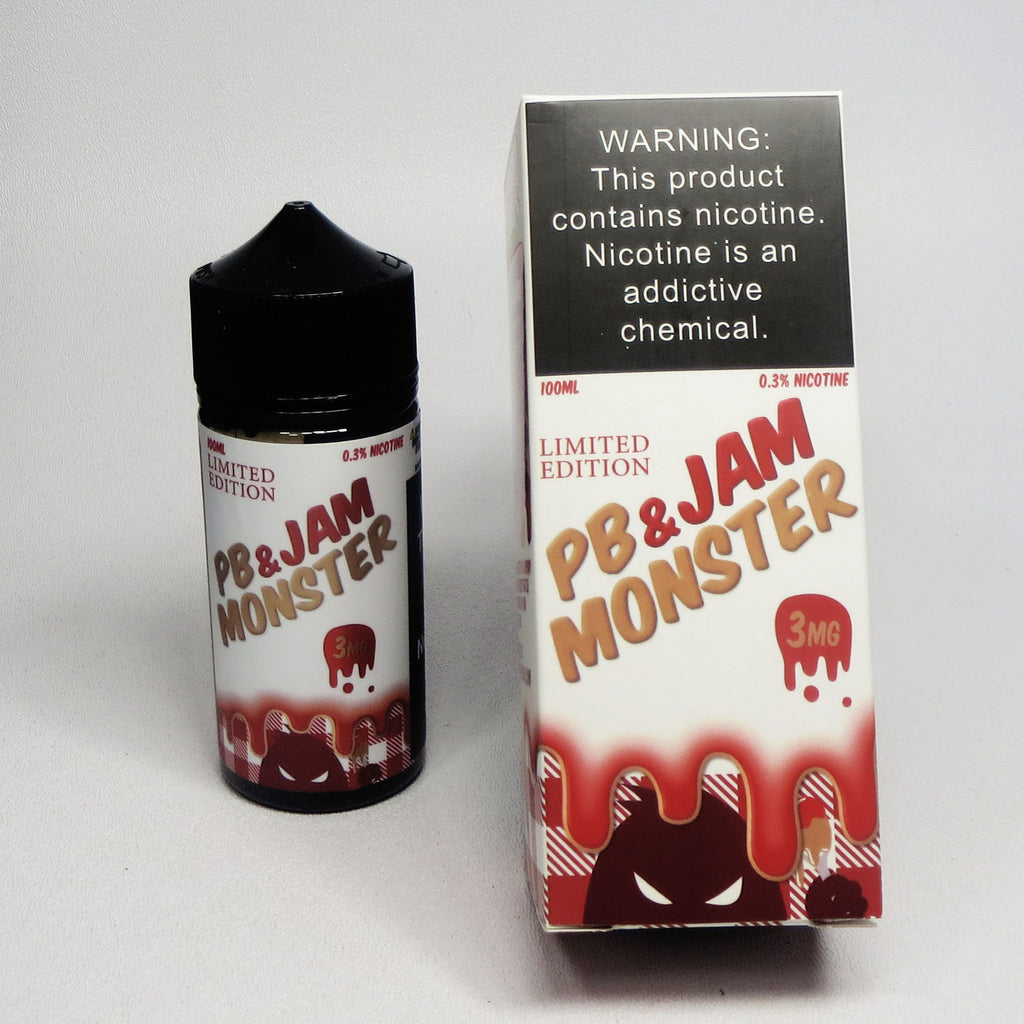 Jam Monster, PB&J Strawberry, 100 mL Bottle