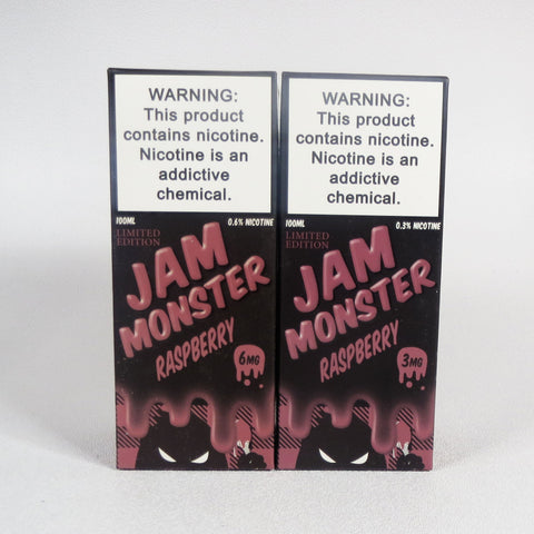 Jam Monster, Raspberry, 100 mL Bottle