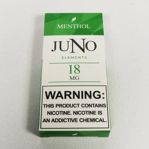 Juno 4-pack pods, Tobacco or Menthol