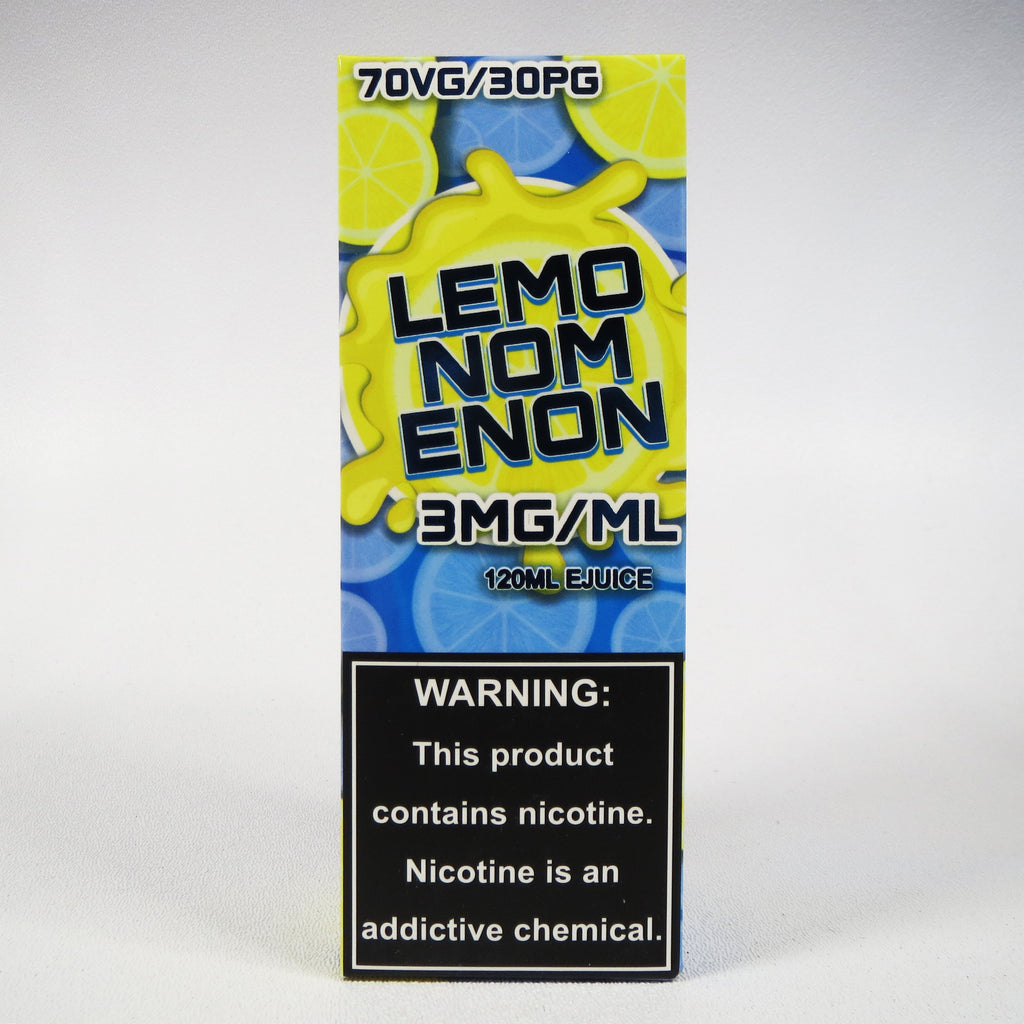 Lemonomenon E-liquid, 120 mL Bottle