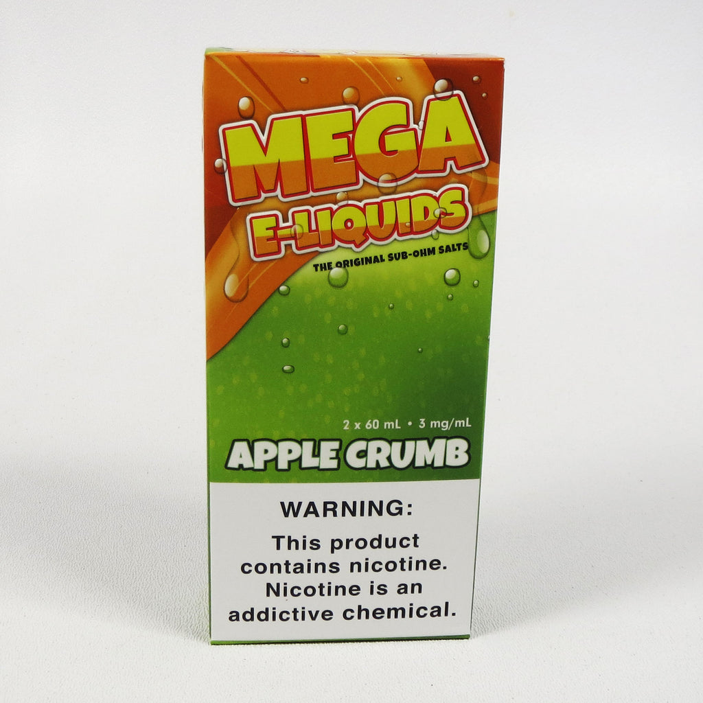 Mega E-liquids  Apple Crumb 120 mL Sub-Ohm Salt
