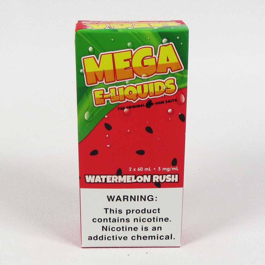 Mega E-liquids Watermelon Rush 120mL Sub-Ohm Salt