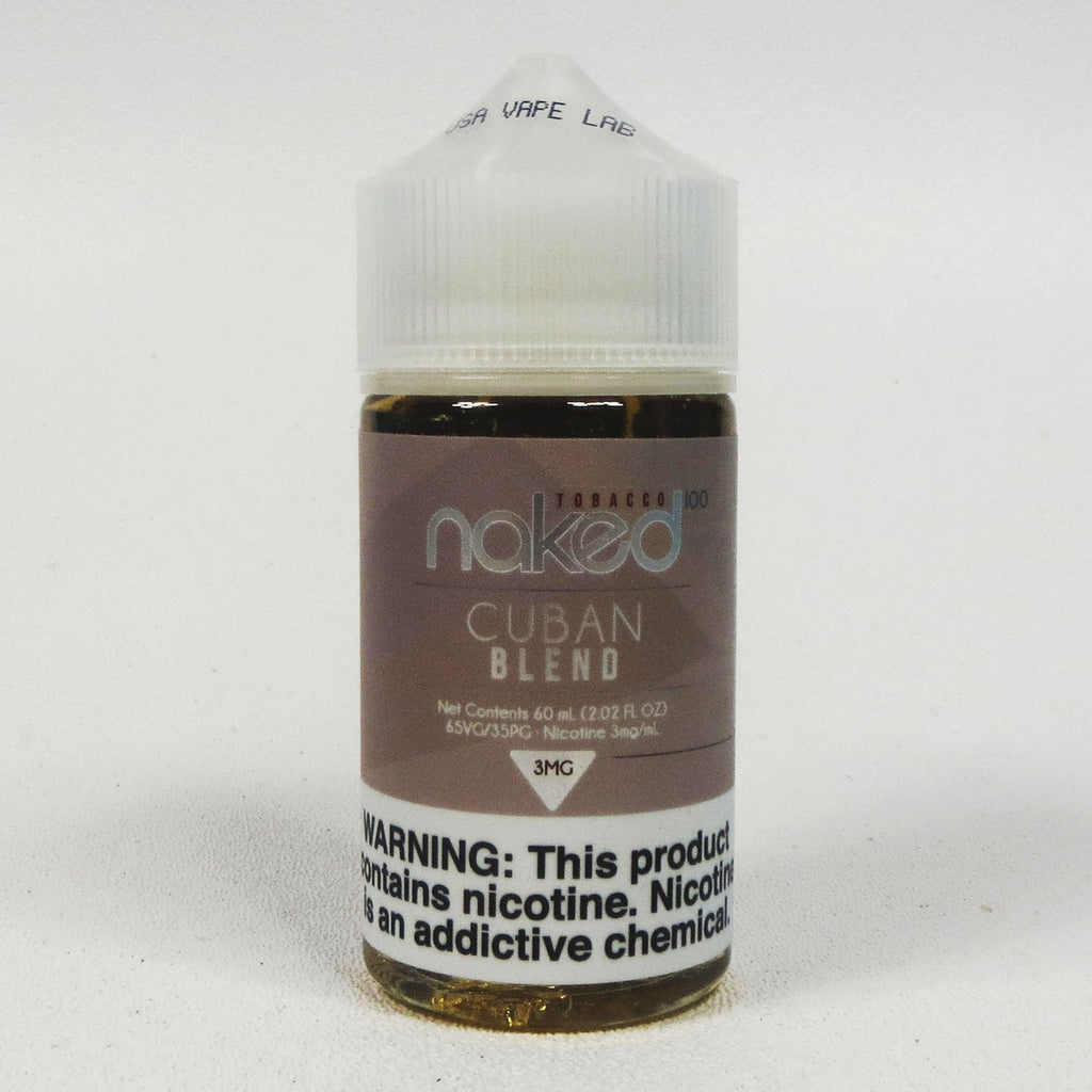 Naked 100, Cuban Blend, 60 mL Bottle