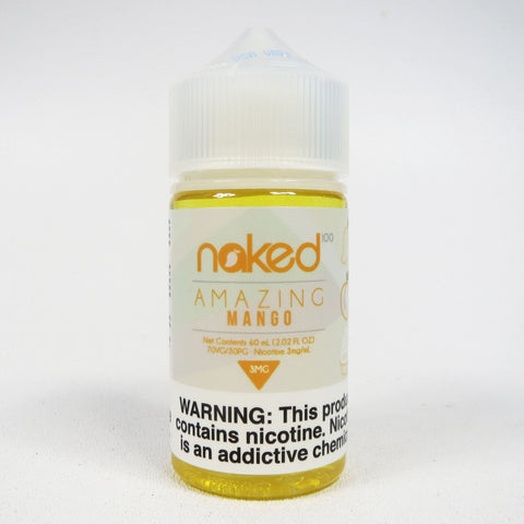 Naked 100, Amazing Mango, 60 mL Bottle