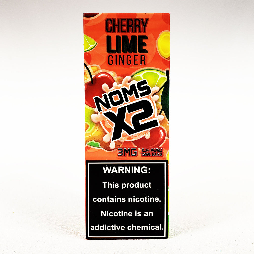 Noms X2, Cherry GInger Lime E-liquid, 120 mL Bottle