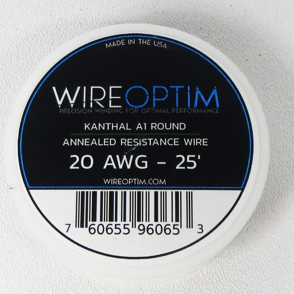 Wire Optim by Lightning Vapes Kanthal Wire, 25, 100 or 250 Foot Spool