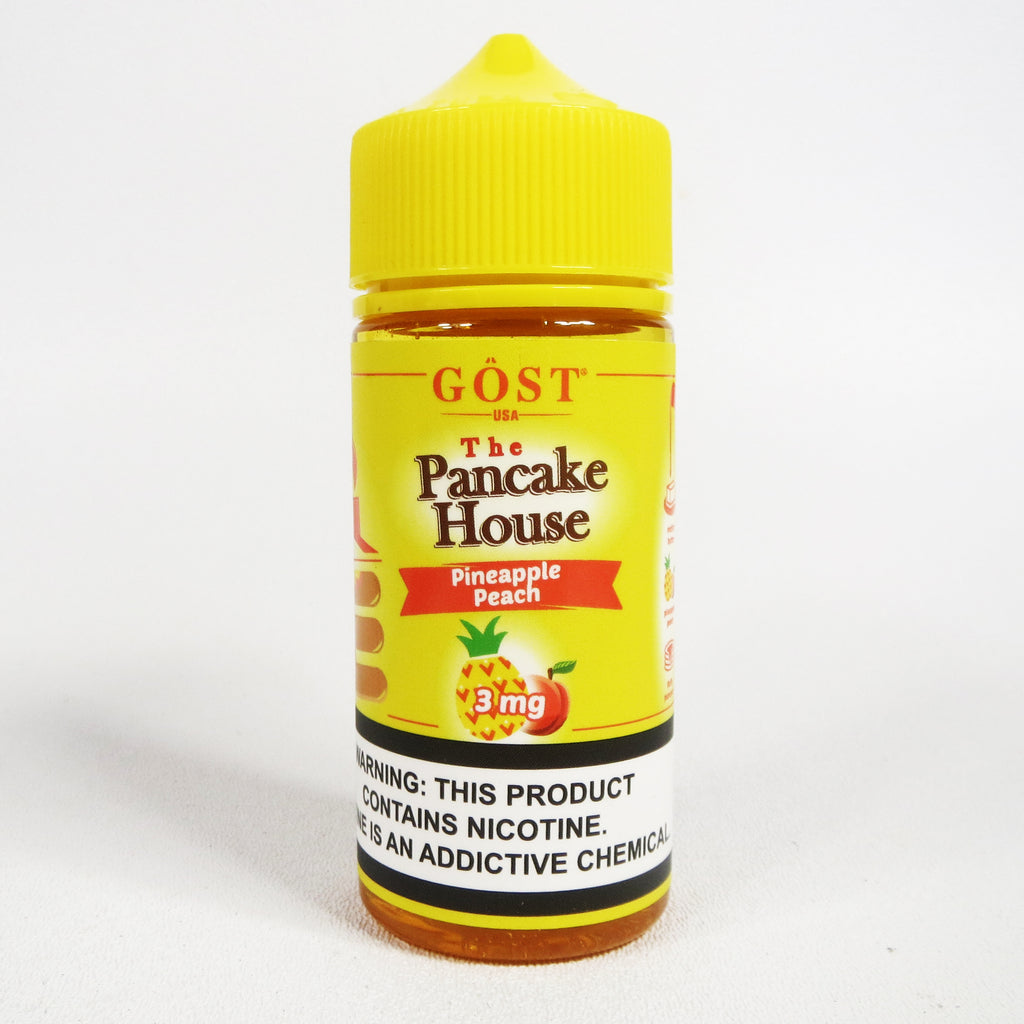 Pancake House PINEAPPLE PEACH by Gost Vapor, 100 mL Gorilla Bottle