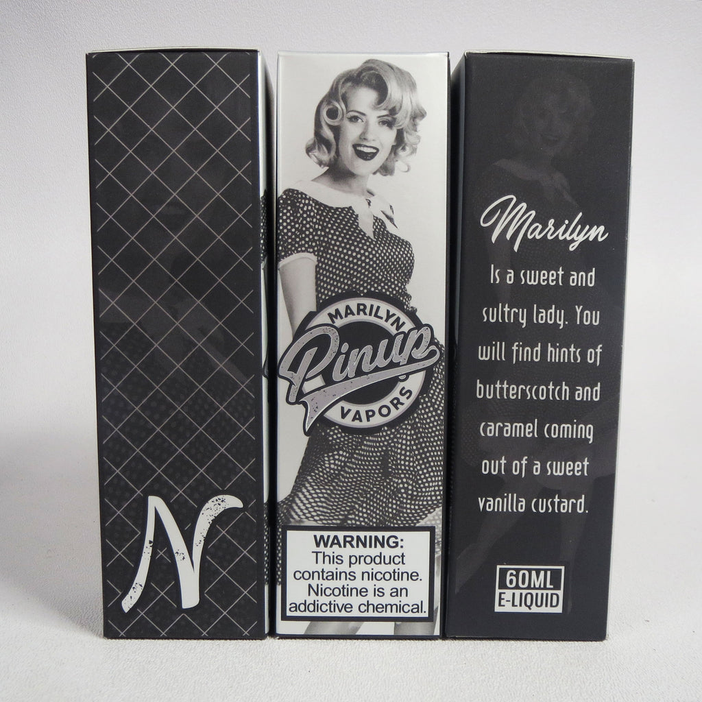 Pinup Vapors, Marilyn, 60 mL Bottle