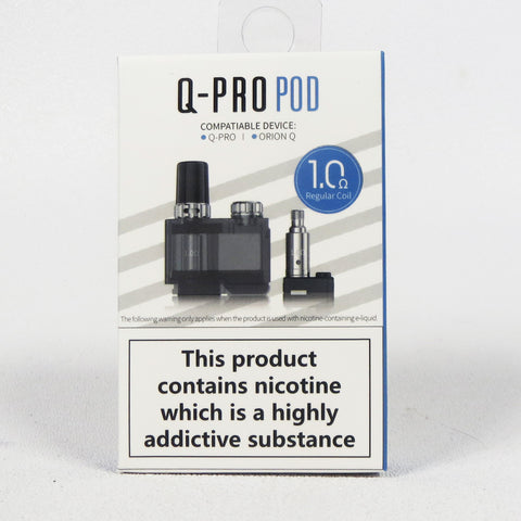Lost Vape Q-pro replacement POD with 2 coils