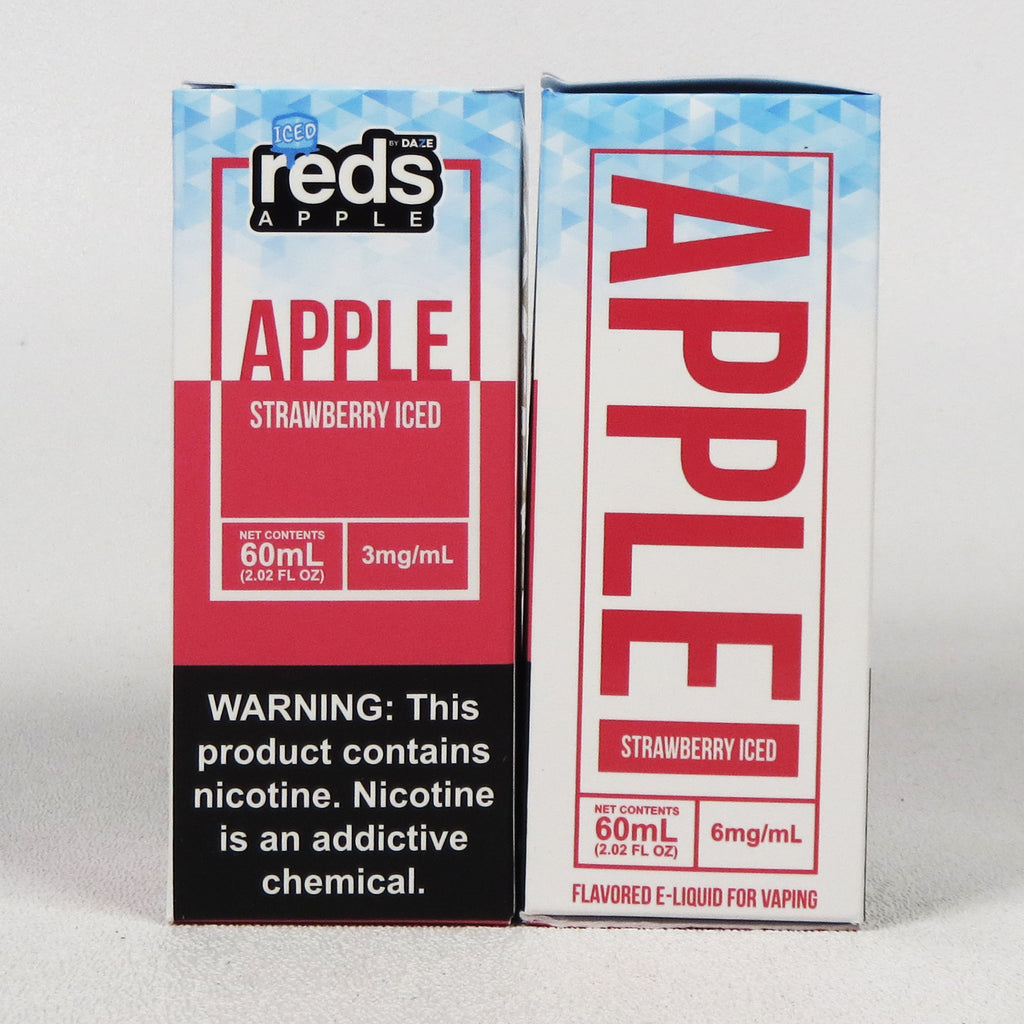 Red's ICED STRAWBERRY 60 mL Bottle