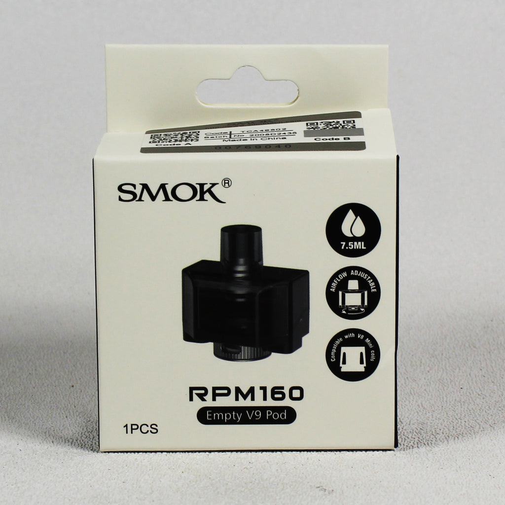 Smoktech RPM160 empty V9 pod