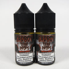 Sadboy Tear Drops Salts, 28 or 48mg SALT, 30 mL Bottle