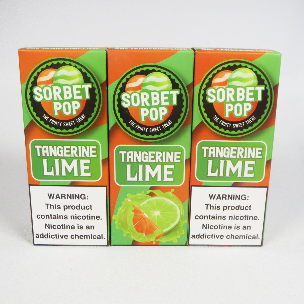 Sorbet Pop, Tangerine Lime, 100 mL Bottle