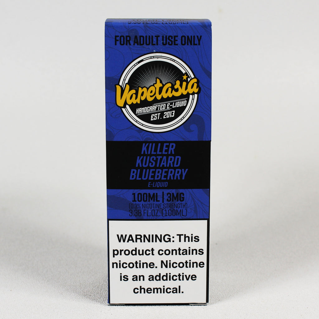 Vapetasia Killer Kustard BLUEBERRY, 100 mL Bottle