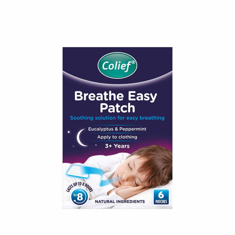 Colief Breathe Easy Patch 6's