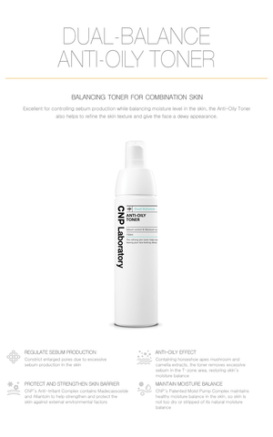 Dual-Balance Anti Oily Toner (2ml X 10 | 150ml)
