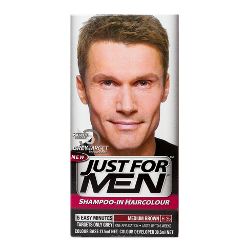 Just For Men Shampoo-In Hair Color <br> Medium Brown