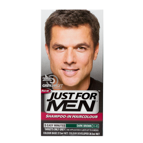 Just For Men Shampoo-In Hair Color <br> Dark Brown