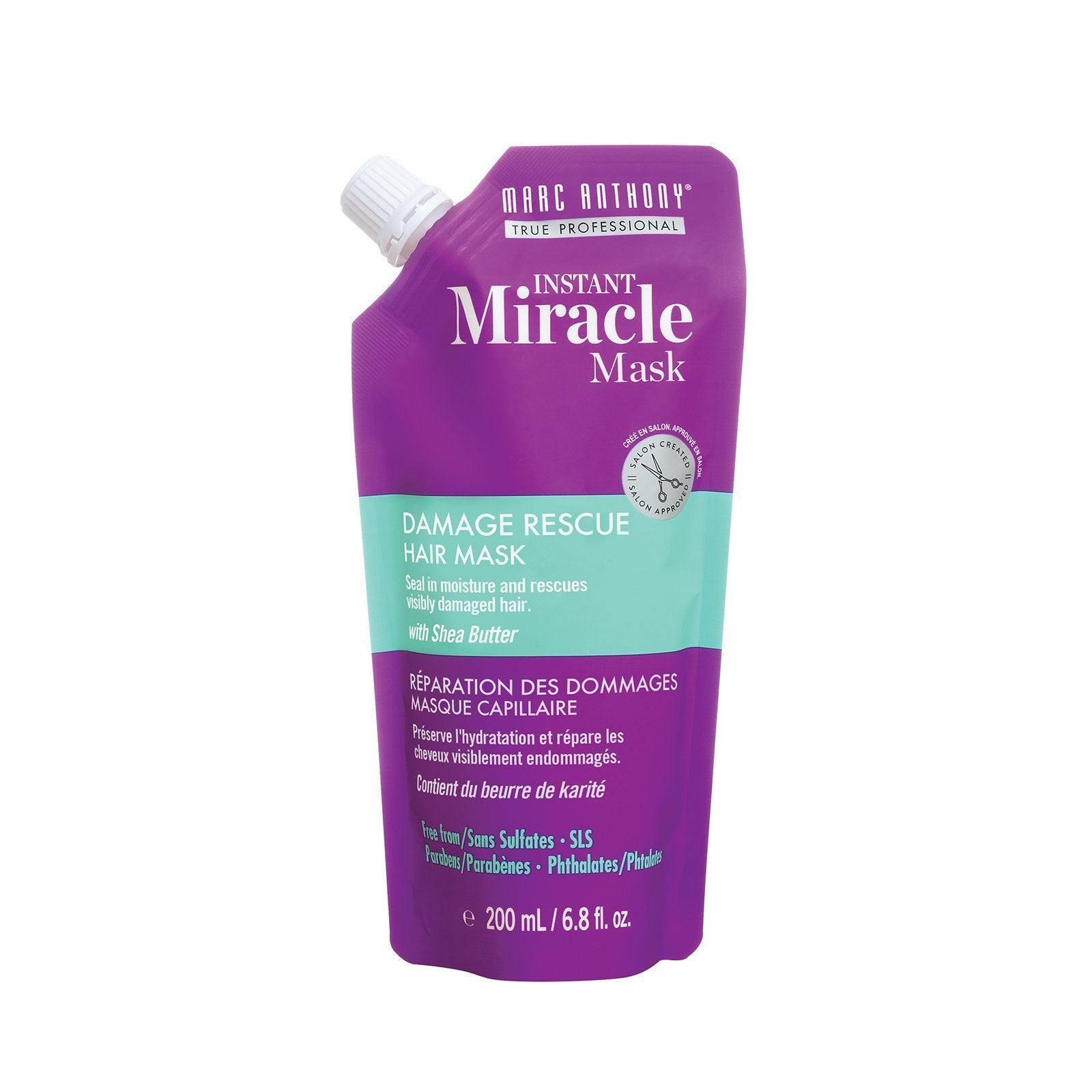 Instant Miracle Mask Damage Rescue Hair Mask 200ml