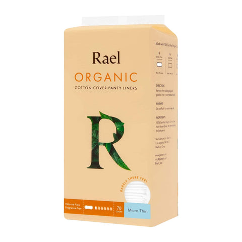 Rael Micro Thin Liners with Organic Cotton Cover 70s