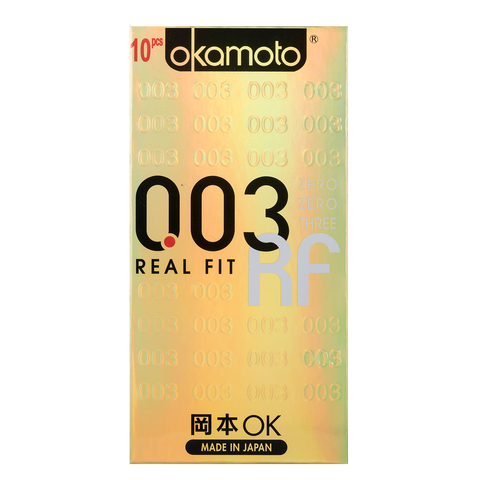 Okamoto 003 Real Fit Condoms 10s