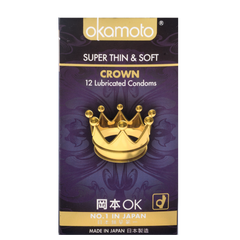 Okamoto Crown Condoms 12s