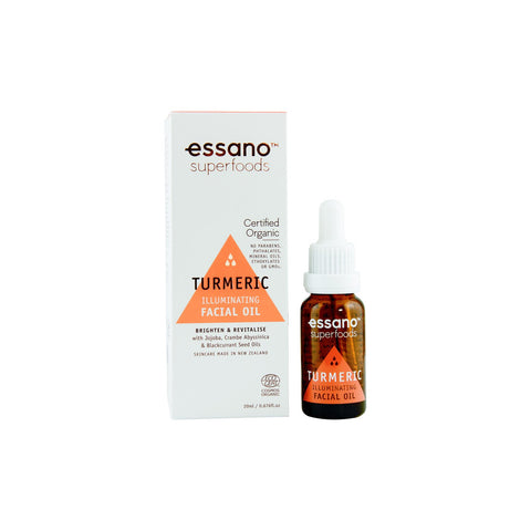 Essano Superfoods Certified Organic Turmeric Illuminating Facial Oil 20ml