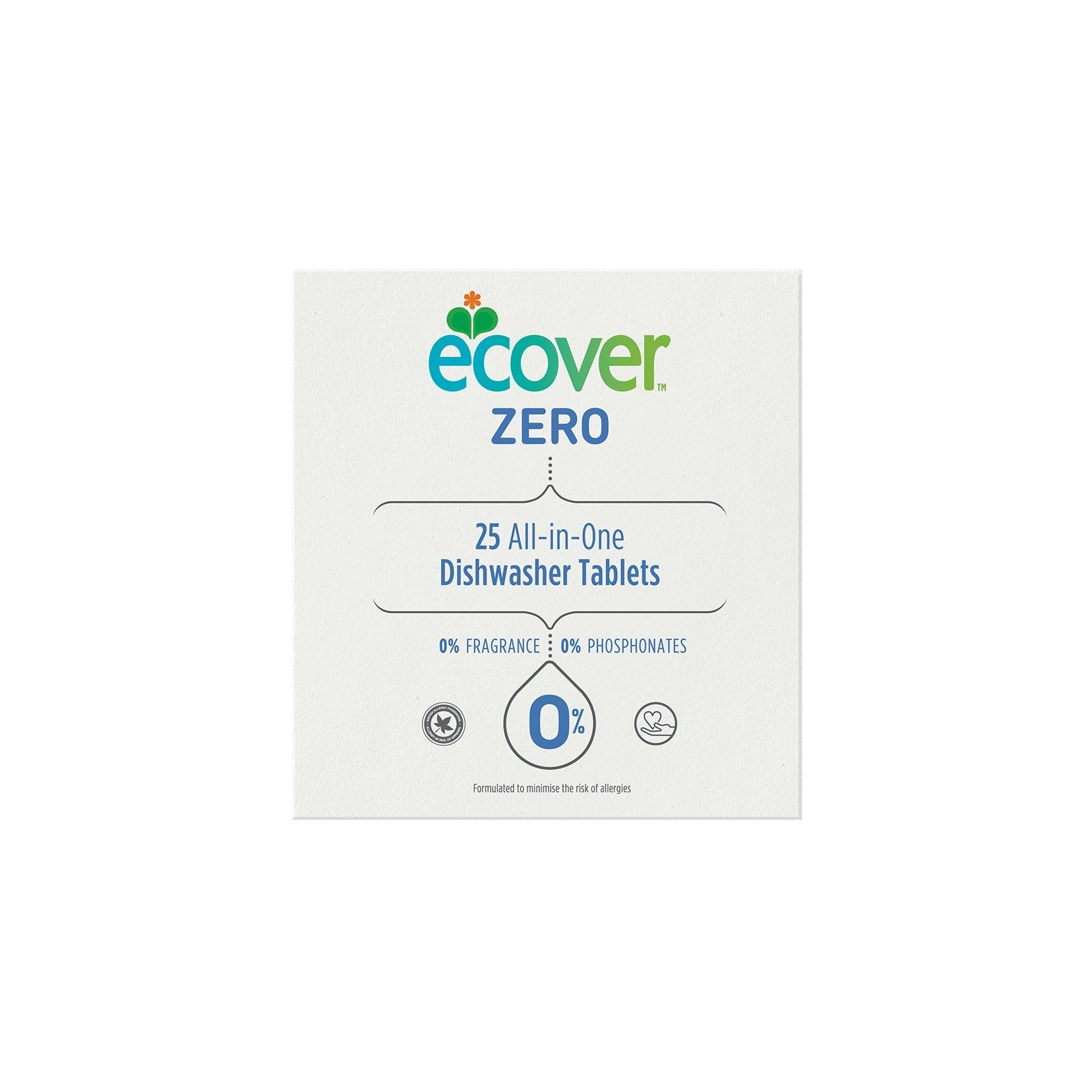 Ecover Zero Dishwasher Tablets 25s