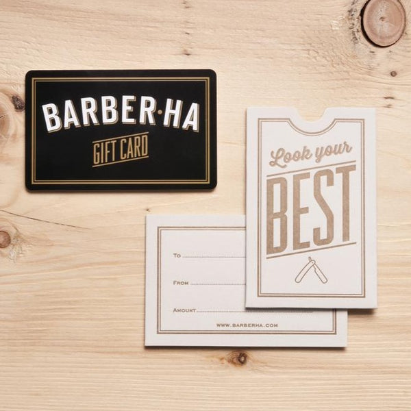 Gift Card - Barber Ha