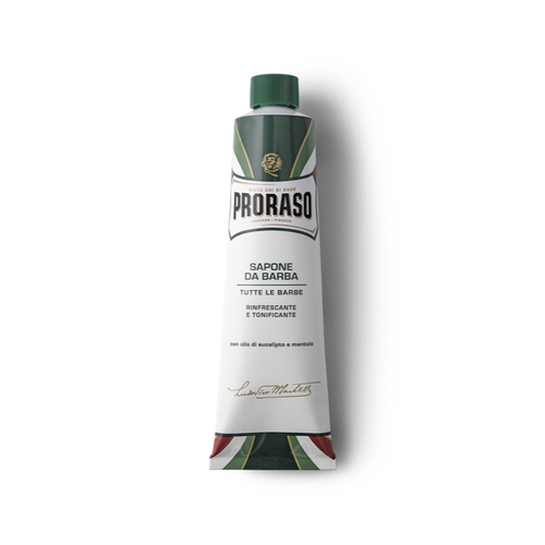 PRORASO GREEN SHAVING SOAP - EUCALYPTUS 5.2 OZ. - Barber Ha