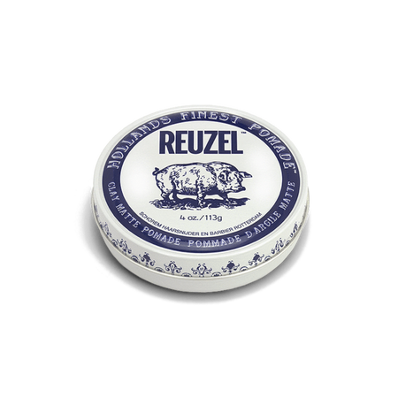 Blue Pomade STRONG HOLD – HIGH SHINE – WATER SOLUBLE
